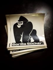 "4"" square custom printed vinyl stickers great for indoor/outdoor qty 100-5000"
