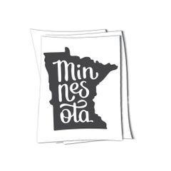 Minnesota MN sticker
