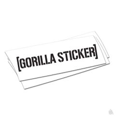FREE Gorilla Sticker