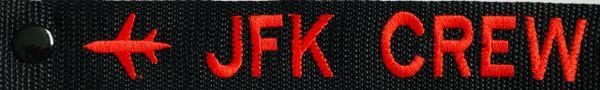 NYC JFK CREW LUGGAGE TAG (UNDER CONSTRUCTION)