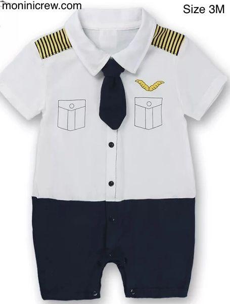 Baby pilot uniform