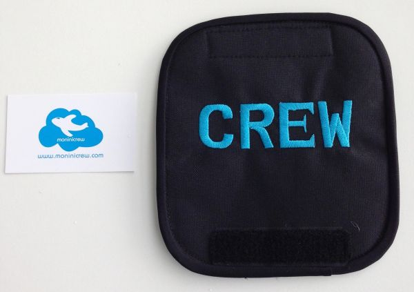 Crew Luggage Handle Cover (Blue)