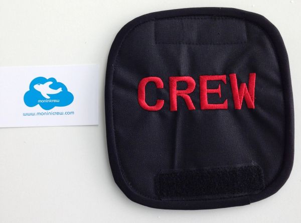 Crew Luggage Handle Cover (Red)