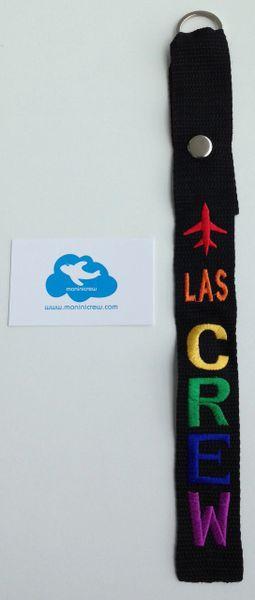 LAS Crew Luggage Tag (Pride)