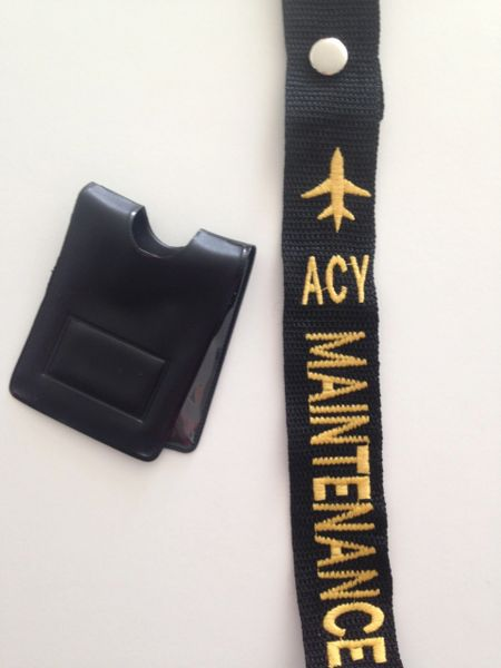 ACY Maintenance Crew Tag and Magnetic Badge Holder (Maintenance)