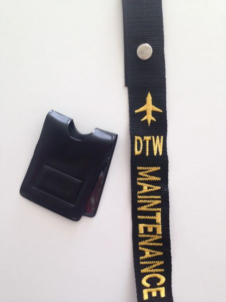 DTW Maintenance Crew Tag and Magnetic Badge Holder (Maintenance)