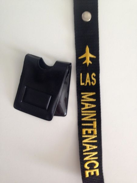 LAS Maintenance Crew Tag/Magnetic Badge Holder (Maintenance)