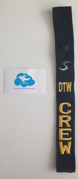 DTW Crew NK Luggage Tag (Yellow)