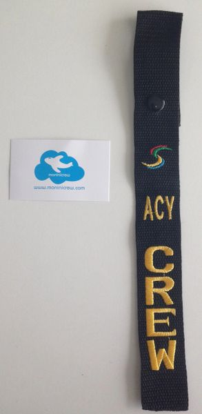 ACY Crew NK Luggage Tag (Yellow and S colors)
