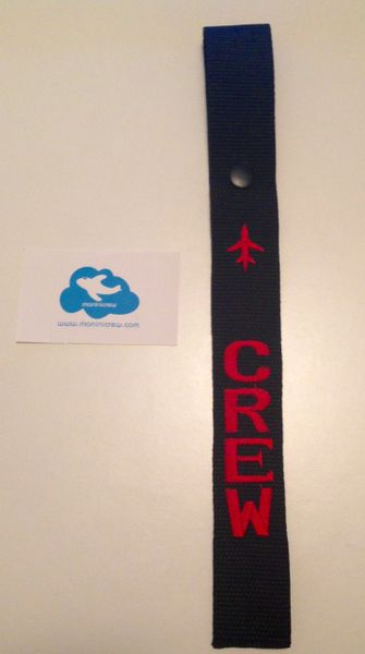 Crew Luggage Tag (Red)