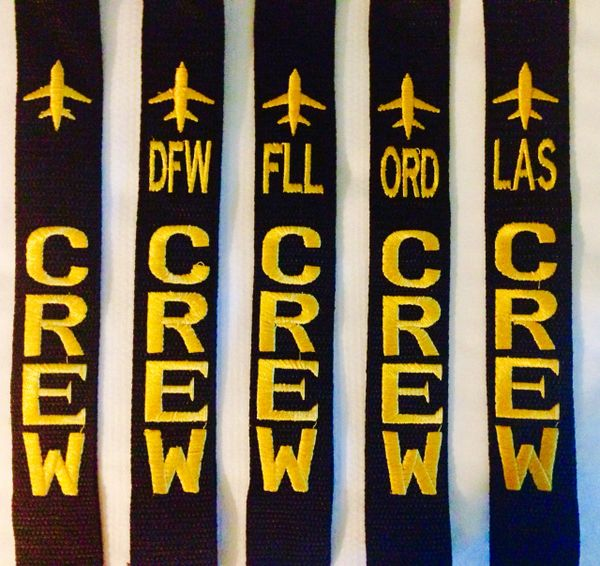 5 Crew Luggage Tags Combo (available bases on this combo on picture)
