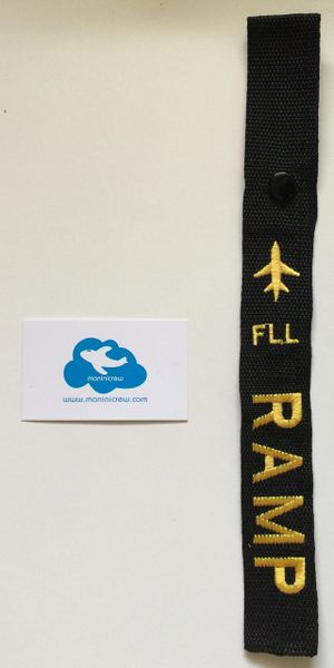 FLL Ramp Luggage Tag (Yellow)