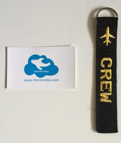 Crew Key Ring Tag (Yellow)
