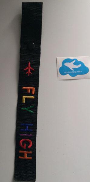 Fly High Luggage Tag (Pride)