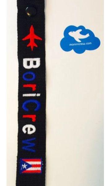 CREW And BoriCrew tags 2 x 12