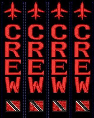 Trinidad Crew luggage tag
