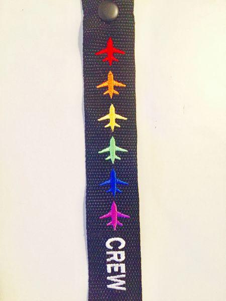 Crew pride airplanes