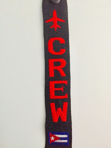 CREW Cuban flag (red)