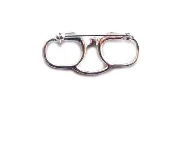 Glasses holder pin (silver)