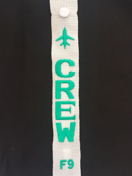 F9 CREW luggage tag (Frontier)