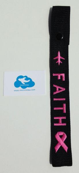 Faith Crew Tag (Breast Cancer Awareness)