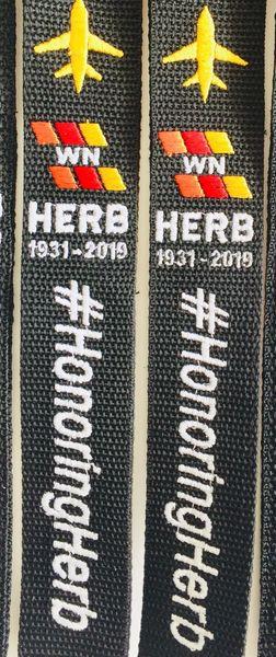 X2 💙❤️💛 #HonoringHerb WN (2) luggage tag