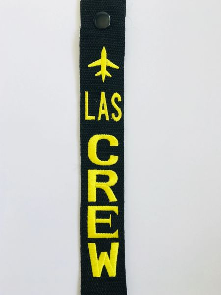 LAS CREW LUGGAGE TAGS (THESE TAGS ARE UNDER CONSTRUCTION)