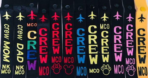 MCO CREW LUGGAGE TAGS
