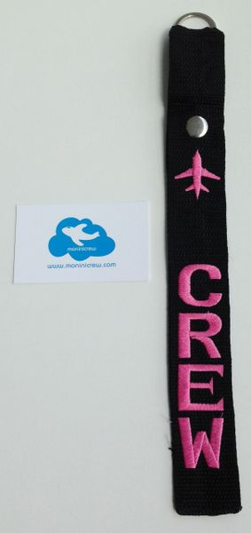 Crew Luggage Tag (Pink)