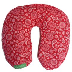 Neck Hugger Heat Pack Pillow, red bandana