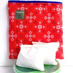 Large Lunch Kit, red bandana