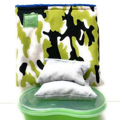 Large Lunch Kit, green camo