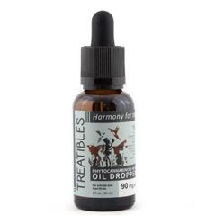 Treatibles 90mg Full Spectrum Hemp Oil Dropper Bottle