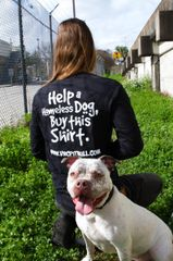 Help a Homeless Dog Long Sleeve Shirt