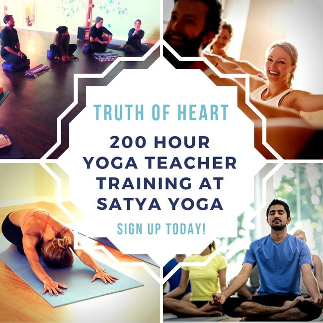 Teacher Training - Satya Yoga | Satya Yoga