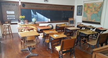 school room from the early 1920s