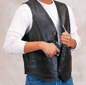 Double Concealment Plain Side Vest