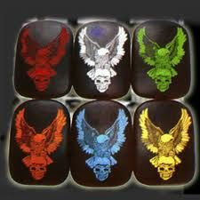 Skull eagle suction cup seats