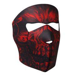 Red Shredder Neoprene Facemask