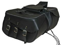 Large 3 Strap Saddle Bag