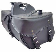 "Medium 2 Strap Saddle Bag 14"" X 10"" X 6"""