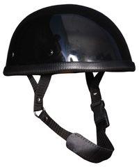 Gloss Black E-Z Rider Novelty Helmet