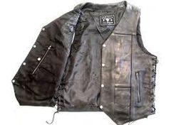 10 Pocket Vest Milled Leather