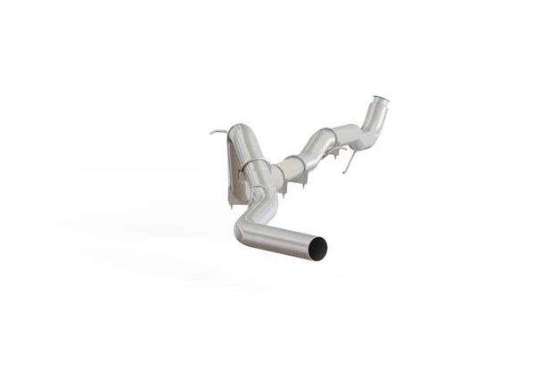 "MBRP Aluminized 4"" Downpipe Back Exhaust 11-15 GM LML"