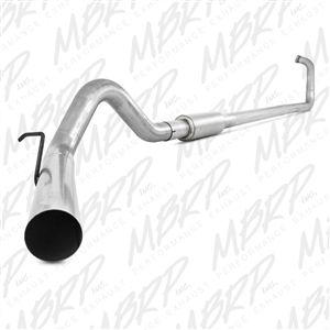 "MBRP S6212AL 4"" Aluminized Turbo Back Exhaust fits '03-07 Ford F250/F350 6.0L"