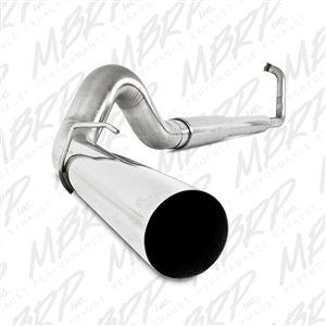 "MBRP S6224AL 5"" Aluminized Turbo Back for 03-07 Ford 6.0L Powerstroke"