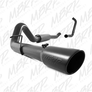 """MBRP S6206BLK 4"""" Black Turbo Back Exhaust fits '03-07 Ford F250/F350 6.0L"""