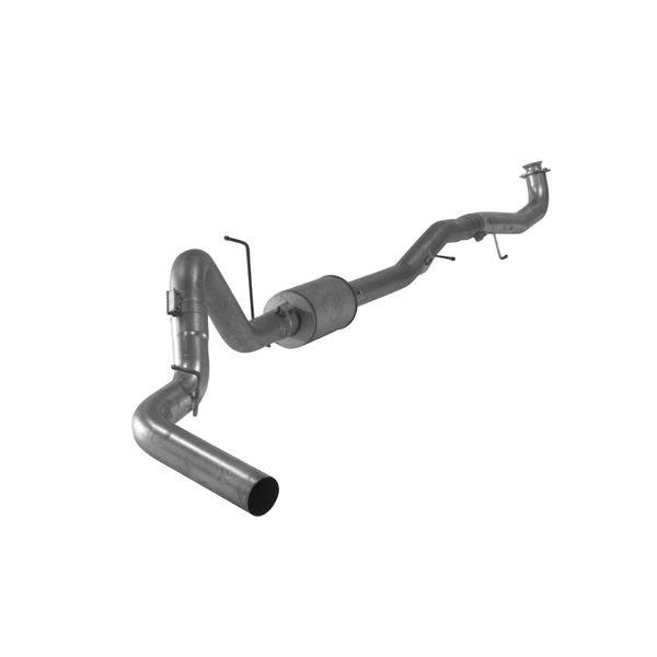 "Flo~Pro Aluminized 5"" Turbo Back Single Exhaust w/Muffler 17-20 L5P"