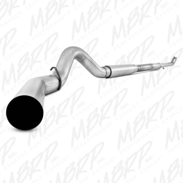 """MBRP S6020P 5"""" Aluminized turbo back exhaust system for 01-10* GM 6.6L Duramax, With muffler"""