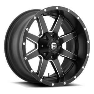Fuel Off-Road Maverick D538 Black Milled 20x9 8x170